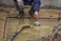 Unwetterschäden sind von der Bauleistungsversicherung abgedeckt