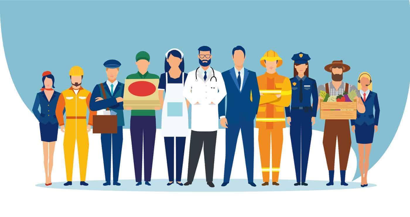 Berufsunfähigkeit: Berufsgruppe und Beruf