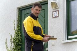 Berufsunfähigkeit Postbote