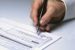 Sterbegeldversicherung Abschluss